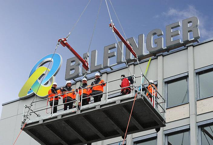 Bilfinger application exterior facade