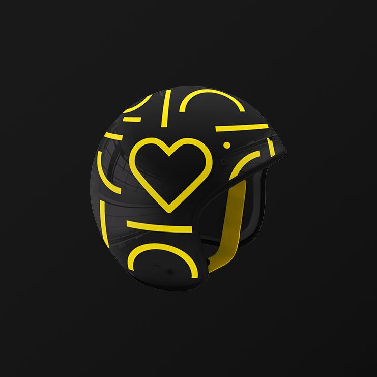 Jelbi Merchandising Helmet