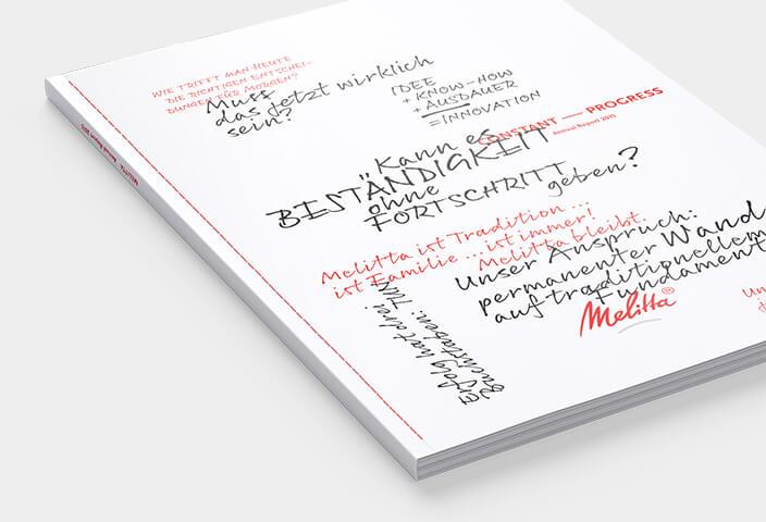 Melitta annual report 2015 cover