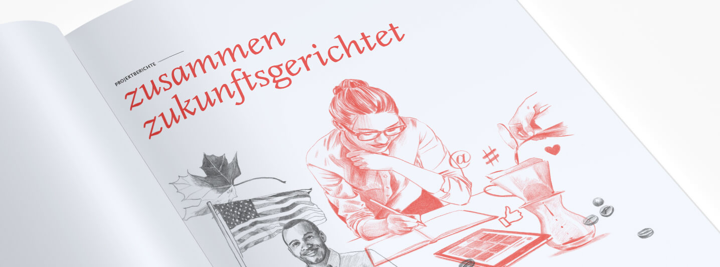 Melitta annual report 2016 illustration
