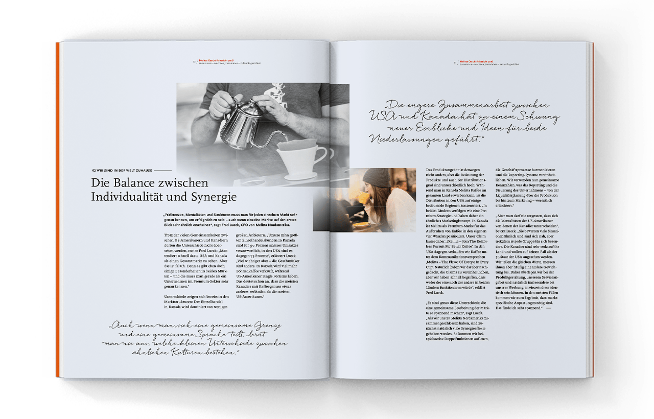 Melitta Annual Report 2016, inside 05