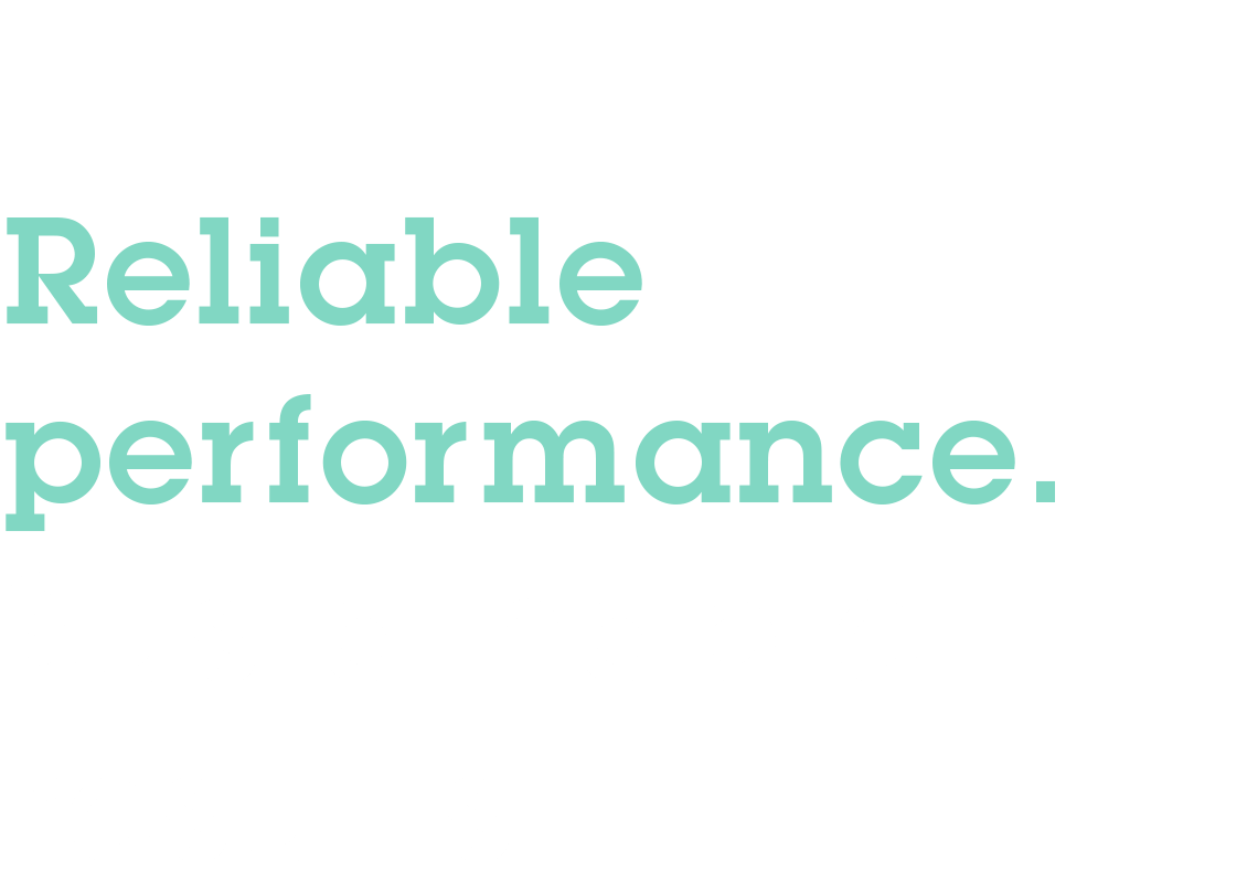 Aqseptence – Reliable performance