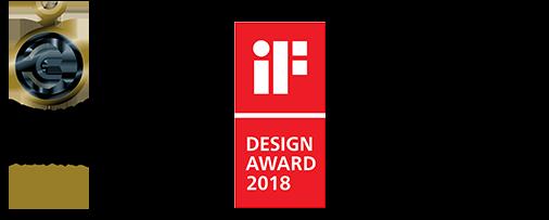 Aqseptence Awards – German Design Award special 2019, iF Design Award 2018
