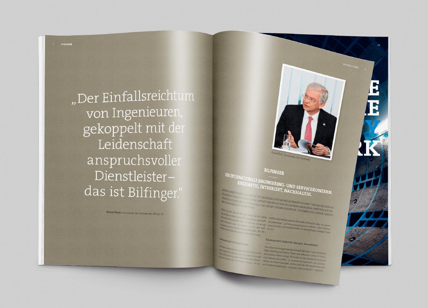 Bilfinger annual report inside