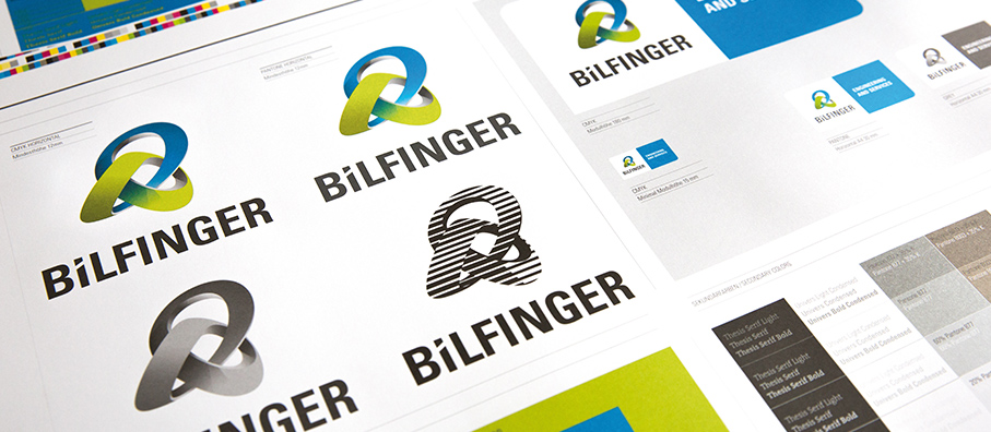 Bilfinger logo versions