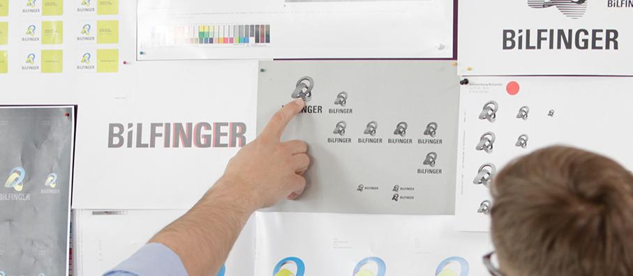 Bilfinger logo creation