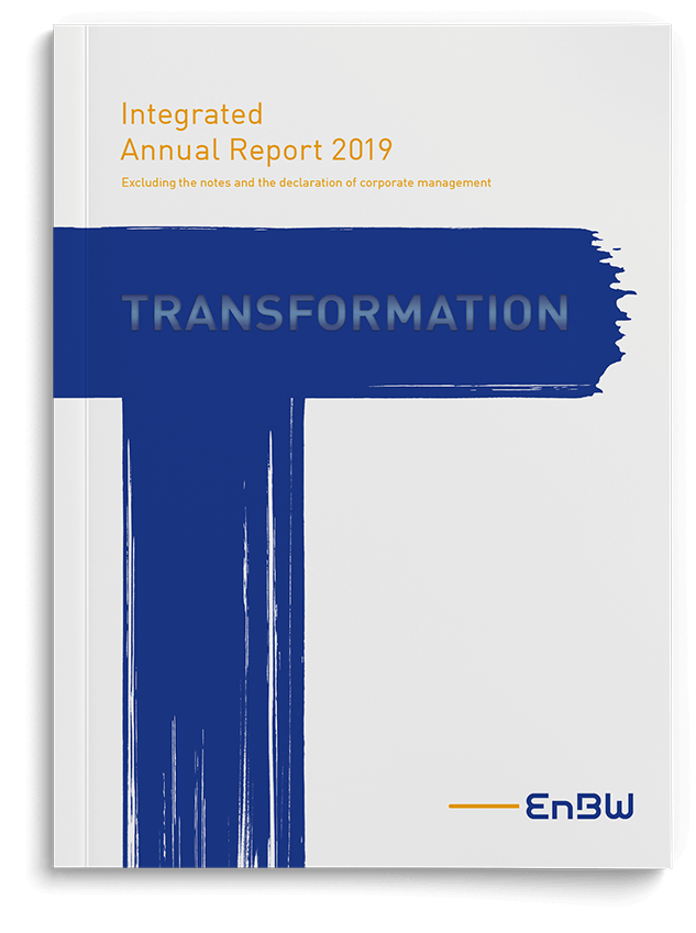 EnBW annual report cover 2019