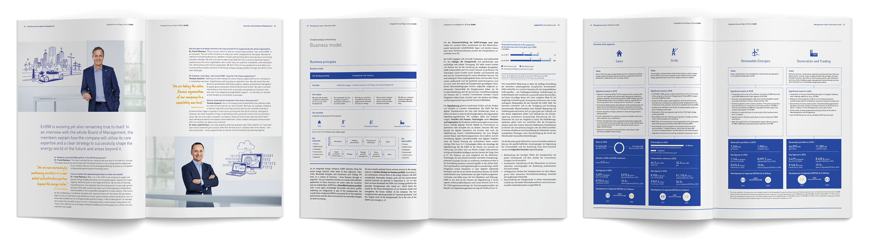 EnBW annual report 2018