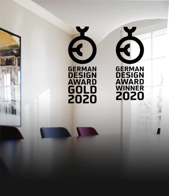 German Design Award 2020: Gold for Jelbi, Winner for the EnBW Annual Report!
