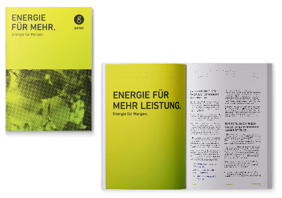 GETEC Media: Brochure