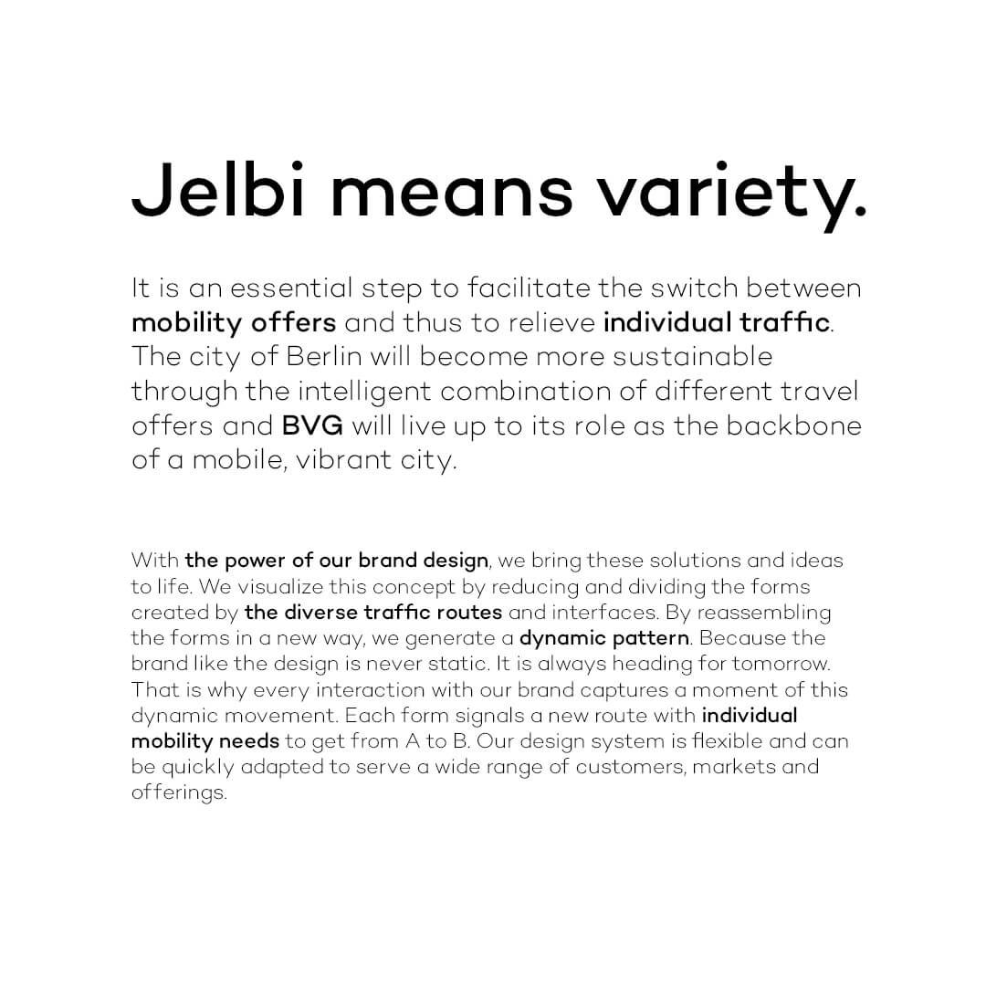Jelbi means variety