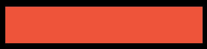 Loo&Me logo orange red, brand design