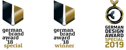 German Brand Award 2018 – Winner Brand Strategy German Brand Award 2018 – Special Mention