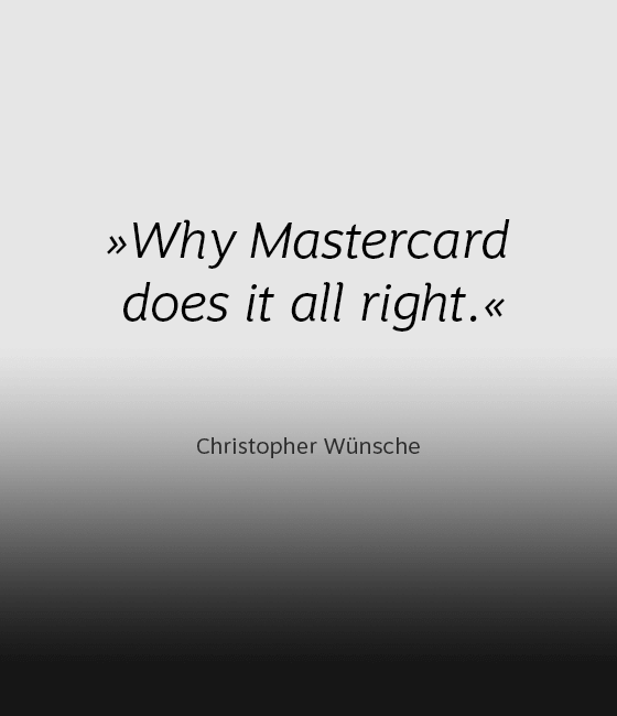 Comment on the new Mastercard brand appearance