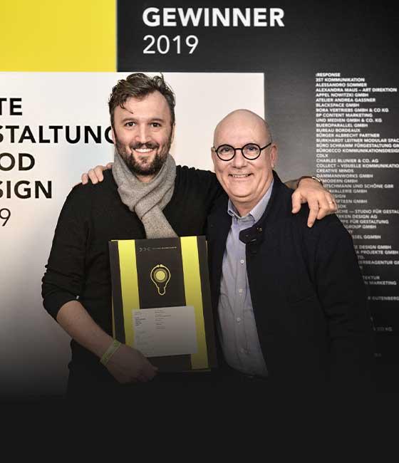 DDC award »Good Desig 2019« for the Jelbi Brand Identity