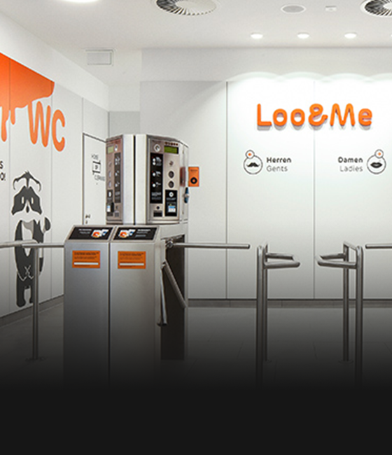Loo&Me – a fresh toilet concept with entertainment factor