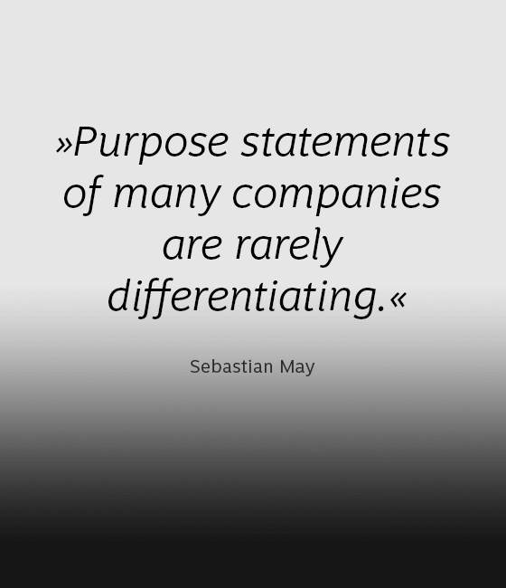Our view on purpose and positioning