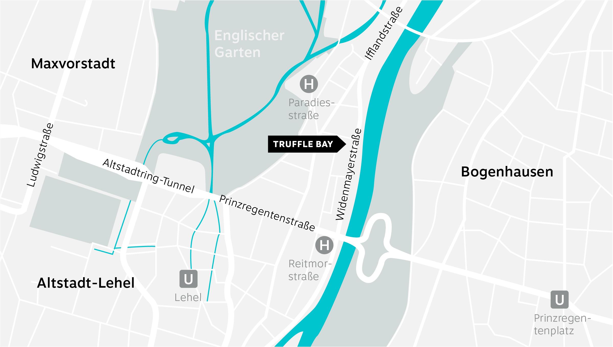 Truffle Bay Contact – Map